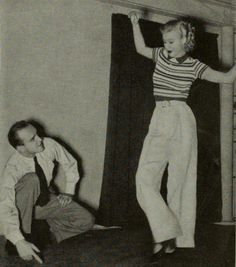 Hermes Pan and Ginger Rogers, 1936