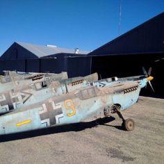 Messerschmitt ME-109C4K's (Hispano HA-1112 Buchon's)