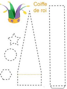 How to Throw a Mardi Gras PartyMardi Gras Crafts and ActivitiesMardi Gras Beads Process Art for KidsPainting with Mardi Gras beads! A simple process art activity you can do with toddlers or preschoolers this year Clown Crafts, Carnival Crafts, Hat Crafts, Mardi Gras Activities, Activities For Kids, Theme Carnaval, Diy For Kids, Crafts For Kids, Diy And Crafts