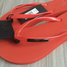 AX Armani Exchange sandals Brand new, never worn Armani Exchange Shoes Sandals