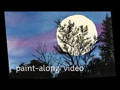 Paint-Along Series #5: Night Scene – Sandy Allnock