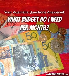 #PinUpLive - Australia Budget Per Month Hello Australia, Australia Living, Study Abroad Australia, Australia Tourism, Australia Trip, Best Beaches To Visit, Christmas In Australia, Trip Planning, New Zealand
