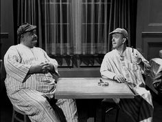 Oliver Hardy and Stan Laurel in The Big Noise (1944)