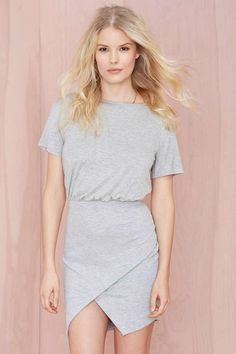 Nasty Gal Wrap Up Dress | Shop Day at Nasty Gal