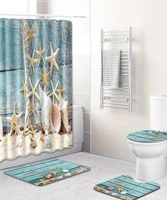 Non-slip Beach Washable Bathroom Rug Set Lid Toilet Cover Bath Mat Set Large Bathroom Rugs, Bathroom Runner Rug, Bathroom Rug Sets, Bath Rugs, Bathroom Beach, Bath Mat Sets, Rug Runner, Toilet, Carpet