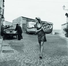 walk cobblestone streets of southern Italy, by Michel Perez