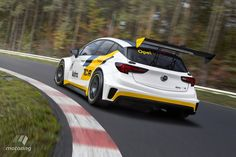 Opel shows off Astra race car