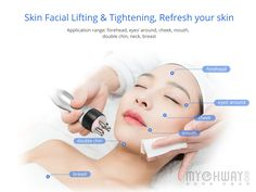 Three-polar Radio Frequency For Facial Skin Tightening And Wrinkle Removal ,Sexut-polar For Body And Face Re-Shaping. Weight Loss RF Fat-explosion Machine Can Promote Tissue Metabolism, Repel The Cellulite Face Skin, Face And Body, Radio Frequency Skin Tightening, Double Chin, Beauty Spa, Wrinkle Remover, Body Contouring, Keep Fit