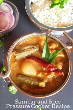 Learn how to make Indian Sambar curry in InstantPot with step by step instructions. Sabar also called sambhar pairs well with rice, dosa and idli. This vegetable curry with sultry Indian spices makes delicious and easy dinner recipe Indian Dal Recipe, Indian Food Recipes, Beef Recipes, Ethnic Recipes, Noodle Recipes, Easy Recipes, Vegetarian Recipes, Healthy Recipes, Dinner Menu