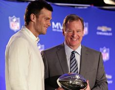 Fan nails deflated footballs to pole near Goodell's Maine house