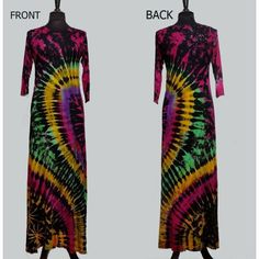 Tie Dyed Dress - 1 - Sanjules