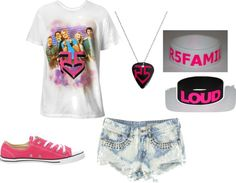 """""""R5 outfit"""" by janicekang ❤ liked on Polyvore"""