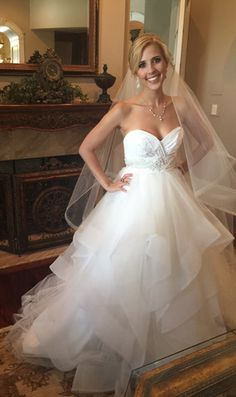 Hayley Paige 'Londyn' size 4 used wedding dress - Nearly Newlywed