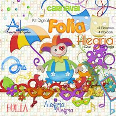 A Arte do Scrapbook Digital: Freebies do Dia