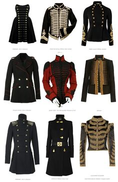 My favoritesl Military Fall Fashion Themes- How To Update A Vintage Fall Coat, h… - Prom Dress Fashion Themes, Fashion Dresses, Fashion Design, Black Military Jacket, Military Jackets, Vintage Military Jacket, Military Jacket Outfits, Military Dresses, Mode Costume