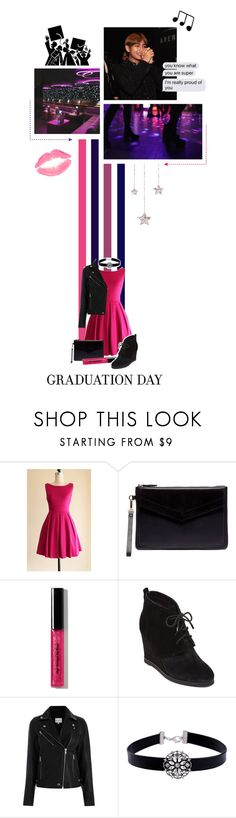 """""Graduation"" // READ DESC."" by niamho99 ❤ liked on Polyvore featuring Sole Society, Bobbi Brown Cosmetics, Vince Camuto, WithChic, Libertine, ESPRIT and toomanyfeels"