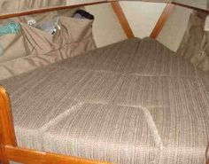 Detailed tutorial making new boat cushions - s/v Stella Blue wbryant.com