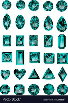 Science Discover Set of realistic blue amethyst jewels isolated on white background with different cuts. Gem Drawing, Diamond Drawing, Diamond Art, Juwel Tattoo, Jewelry Design Drawing, Jewelry Illustration, Jewellery Sketches, Wow Art, Gems And Minerals