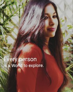 Every person is a World to explore.  #wellness  #love  #peace #positivity  #motivation  #qoutes  Instagram @sindhujaa