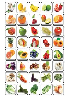 bingo over fruit Fruit And Veg, Fruits And Vegetables, Preschool Worksheets, Preschool Activities, Kids Education, Special Education, Bingo, Nutrition Activities, Kids And Parenting