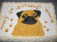 Pug Cake.