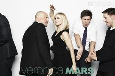 And the award for best dancer in the Veronica Mars cast goes to....Chris Lowell