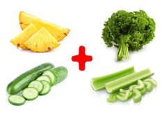 There isn't any magic pill that will help you lose 30 pounds a week without compromising your health. However, we at Bright Side would like to share a recipe fo Flat Belly Detox, Flat Belly Fast, Low Calorie Vegetables, Recipe Fo, Healthy Drinks, Detox Drinks, Lose 30 Pounds, 10 Pounds, Vitamin B12