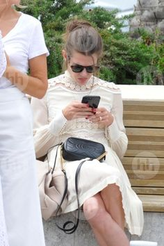 [IMG] Charlotte Casiraghi Style, Patagonia Better Sweater, Royal Clothing, Gucci Fashion, Summer Chic, Celebs, Celebrities, Most Beautiful Women, Well Dressed