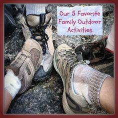 5 Favorite Family Outdoor Activities by Go Explore Nature — BonBon Break