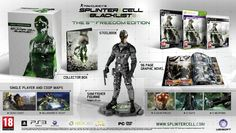 Here is the Gamestop Ireland Exclusive Splinter Cell Freedom Edition Xbox 360, Playstation, Splinter Cell Games, Tom Clancy's Splinter Cell, Fisher, Splinter Cell Blacklist, Graphic Novel, Toms, The Rundown