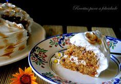 Receitas para a Felicidade!: Bolo de Cenoura e Ananás (Aniversário Lidl)
