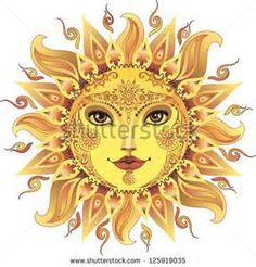 female yellow sun tattoo - Bing Images