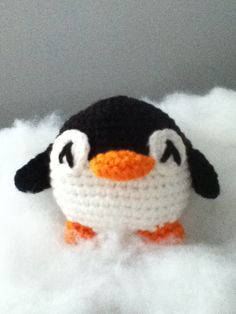 Made to Order: Crochet Amigurumi Penguin Doll by ShimmereeCreations on Etsy