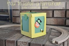 St. Patrick's Day kid craft. How to catch a leprechaun!