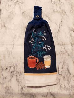 Crochet Kitchen Towels, Crochet Towel, Star Coffee, Hand Sanitizer Holder, Getting A Puppy, Mothers Day Presents, Halloween Cat, Tea Towels, My Etsy Shop