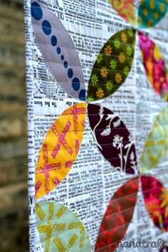 Field Day fabric by Alison Glass, quilt by Maureen Cracknell #quilting #patchwork #fabric