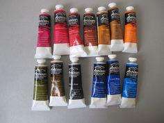 Winsor & Newton Artisan Water Mixable Oil Color set of 13 #WinsorNewton