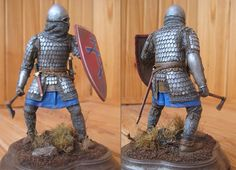 Its a miniature, but the the scale spaulders, and whole kit is good, 14C