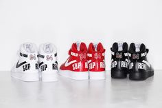 Nike Air force 1 x Supreme WORLD FAMOUS #sneakers #supreme #nike
