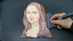 Making MONA LISA PANCAKE - The Most Expensive Breakfast In The World