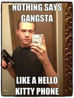 Funny pics - gangsta lmfao