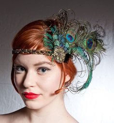 20's flapper hair bands - Google Search