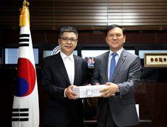 안병환 총장, 아이홍거(艾宏歌) 중국대사관 교육참사관 예방 받아