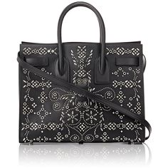 Saint Laurent Women's Sac De Jour ($3,950) via Polyvore featuring bags, zip pouch bags, flat bags, handle bag, snap lock bags and snap bag