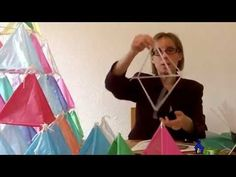 The video version of my Family Math Night Collaborative Project: the tetrahedral kite. This is a super fun math and STEM activity! Can also be done in the classroom. And, yes, the kite does fly!