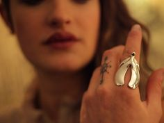 """Attention! Your hunt for the next perfect piece to add to your feminist jewelry collection is here! The so-called """"Clitoring"""" by Penelopi Jones is, well, exactly what it sounds like: an anatomically correct ring modeled after the internal structure of the clitoris. Who knew that the pleasure source"""