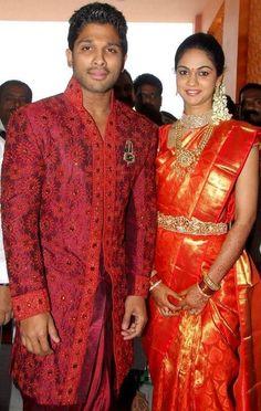 Allu Arjun & wife Sneha reddy