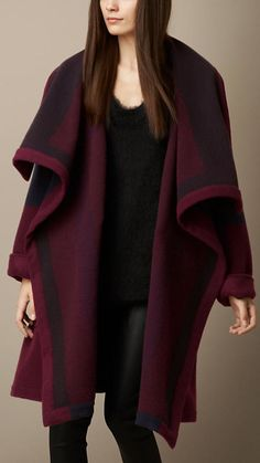 Knitted Blanket Coat