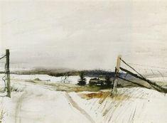 Andrew Wyeth - Seal farm