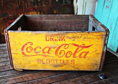 Rare Coca-Cola New York Bottling Co Wooden Crate